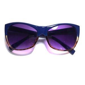 Blue and Tortoise Sunglasses